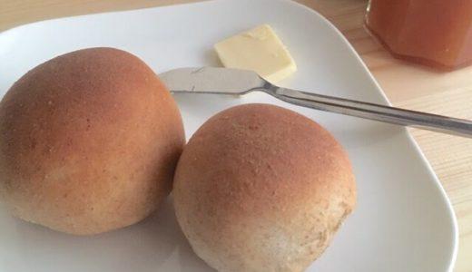 簡単!50分で作る、薄力粉のシンプル丸パンのレシピ